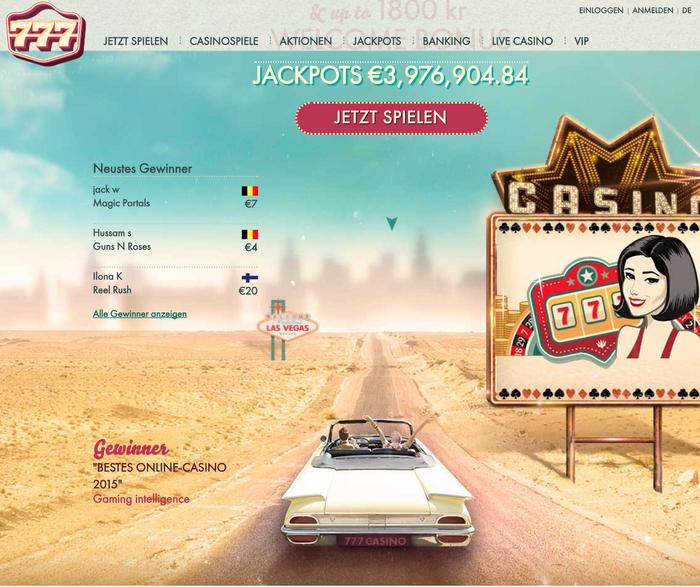 777 casino website